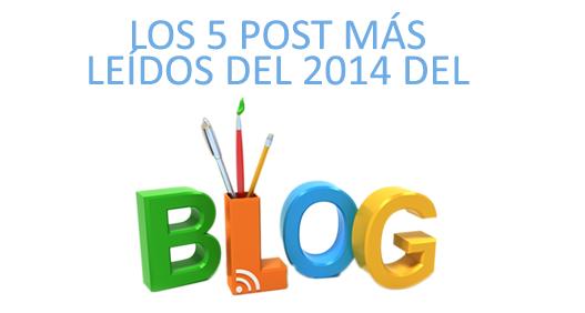 Los post más leídos del 2014