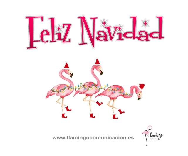 feliz navidad flamingo3